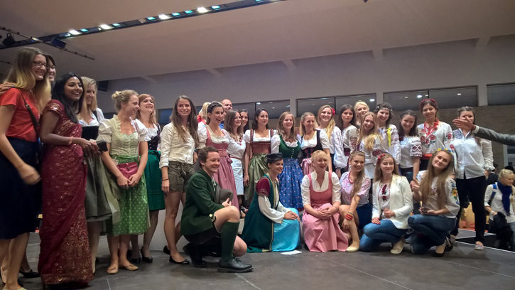 International Evening in Alpbach